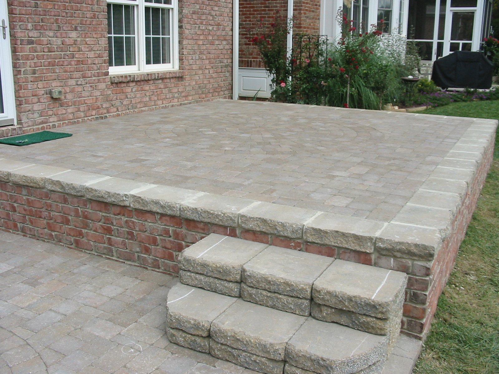 Concrete Vs Paver Patio Concrete Vs Pavers Which e To Choose